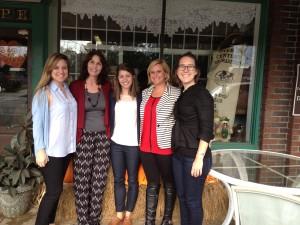 Amanda Phillips (FLPC), Shelia Plogger (Marshall University), Kristie Gurley (FLPC), Tonya Gardner (Grundy County), and Alli Condra (FLPC)