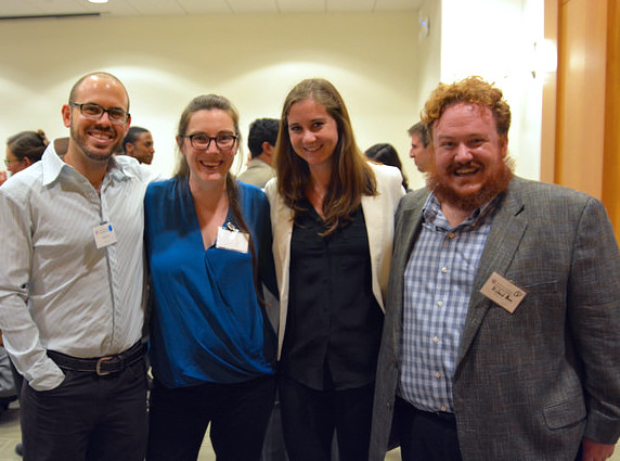 Richard Moore (far right) with other Summit attendees