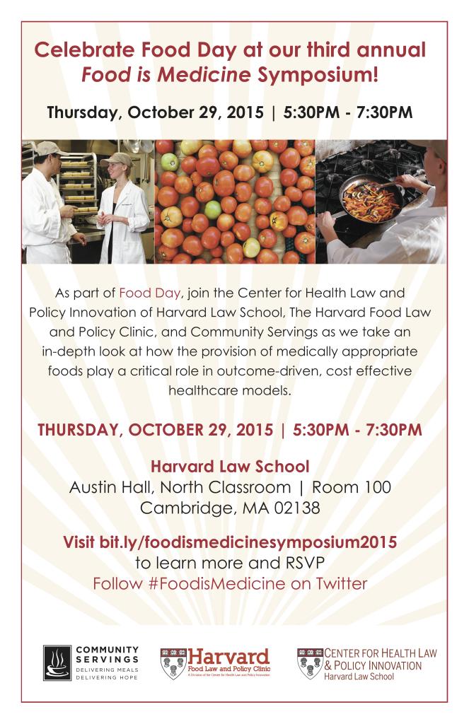 CHLPI's 3rd annual Food is Medicine Symposium